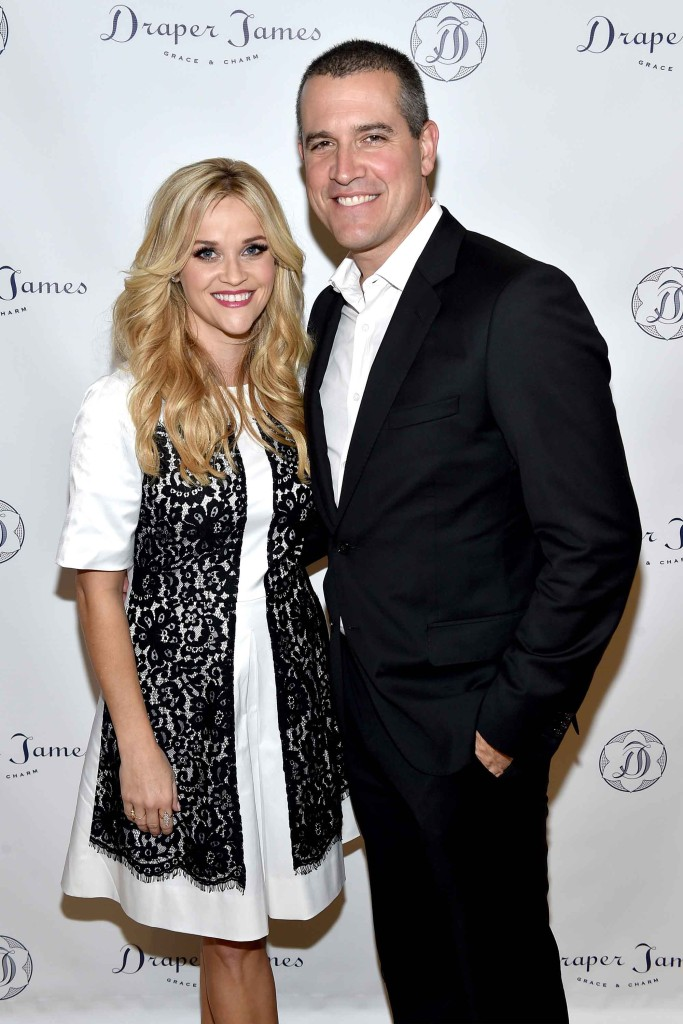 Reese Witherspoon and husband, Jim Toth