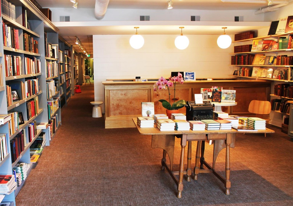 Blue Bicycle Books AFTER front area -- photo by Lauren Sanchez (Large)