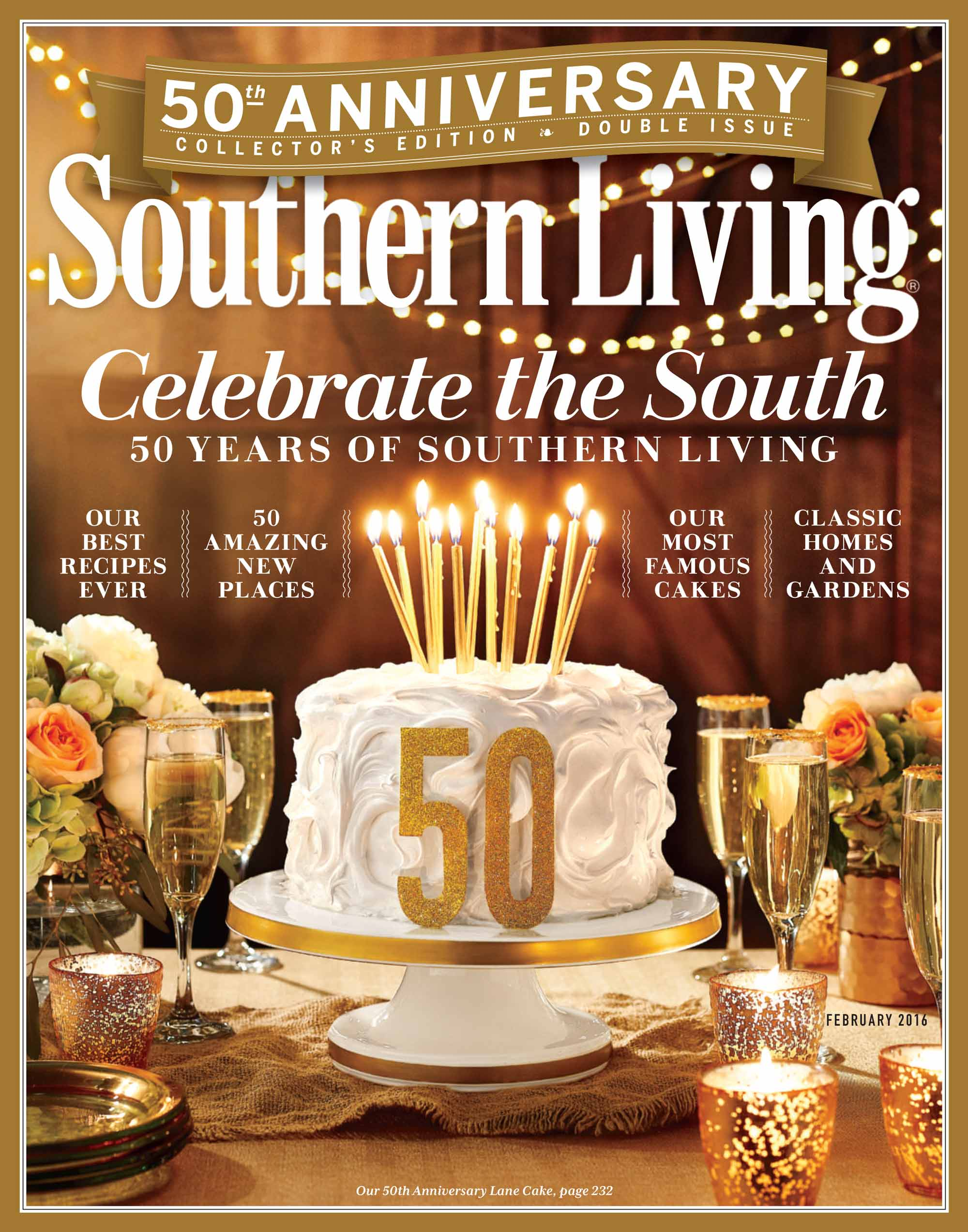 The Latest Issue Of Southern Living Magazine.