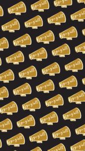 megaphone_gold_black