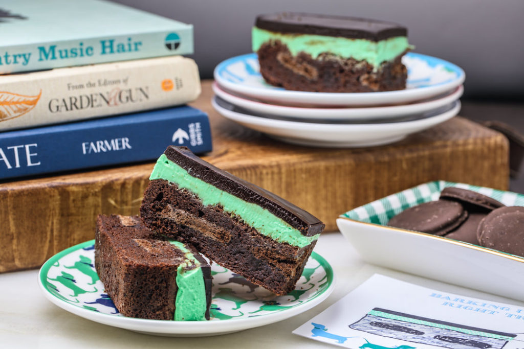 Southern fattys recipe for mint ganache browniesdraper james blog mint ganache brownies forumfinder Images