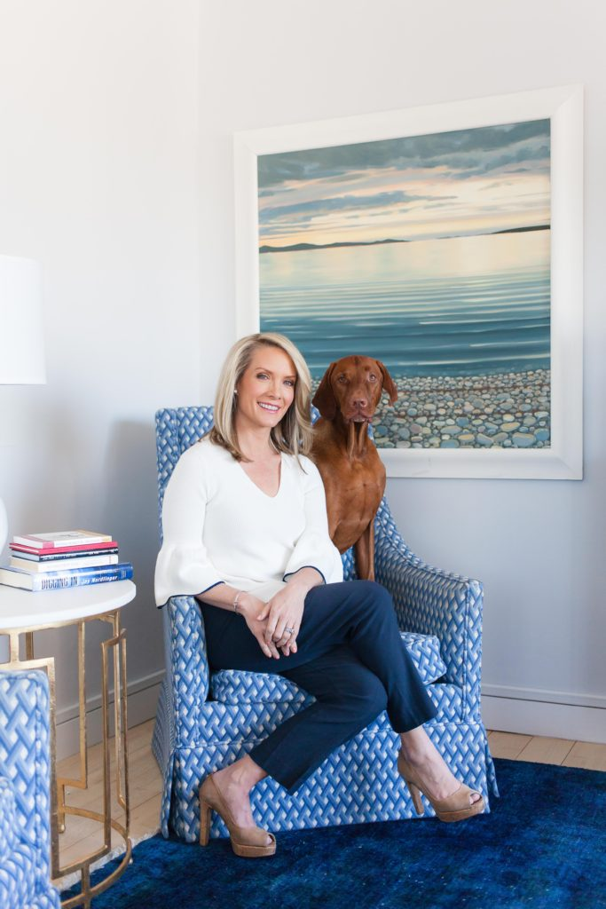 Dana Perino wearing Draper James