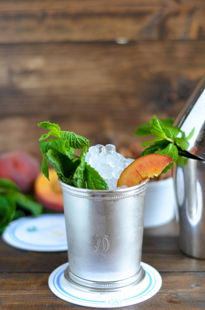 Peach Mint Julep Recipe