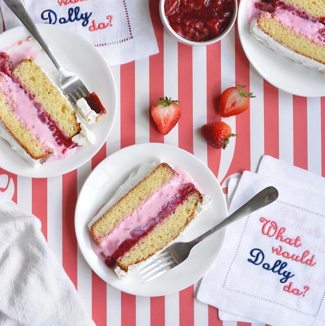 Bethcakes Whipped Up A Strawberry Shortcake Ice Cream Cake