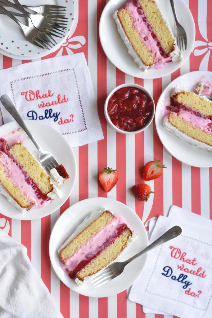Strawberry Shortcake Ice Cream Cake recipe
