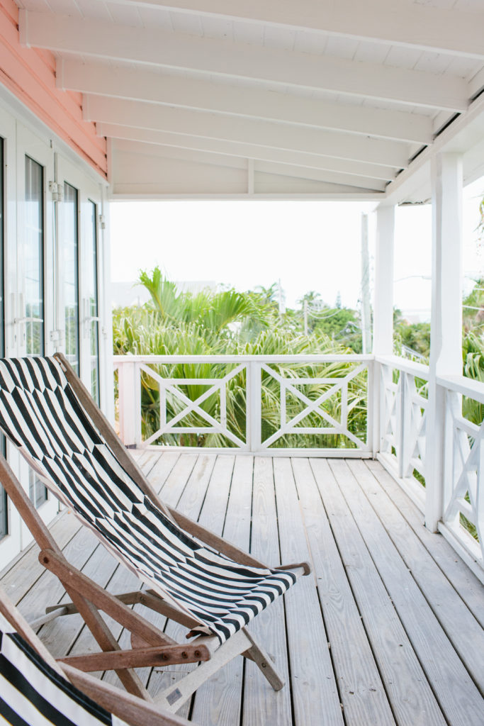 Bahamas beach cottage coral house
