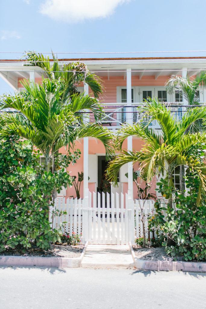 Bahamas beach cottage coral house