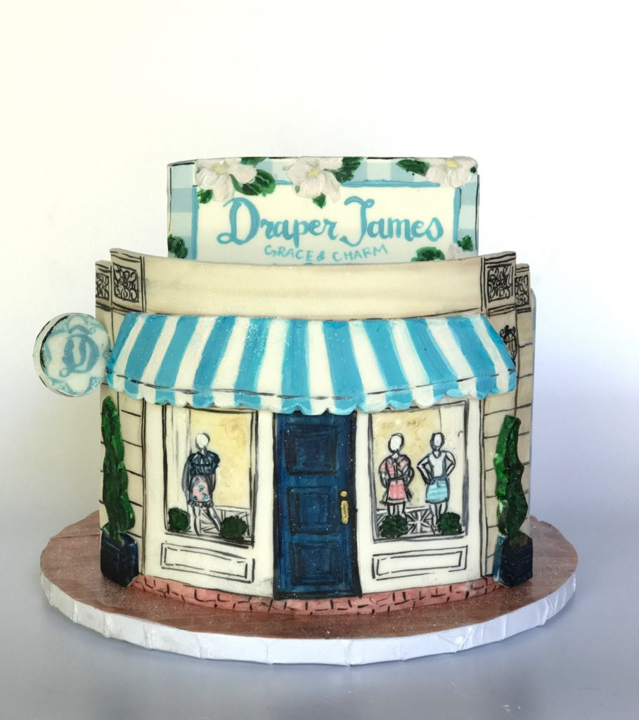 Custom Draper James Cakes From Cades In DallasDraper Blog