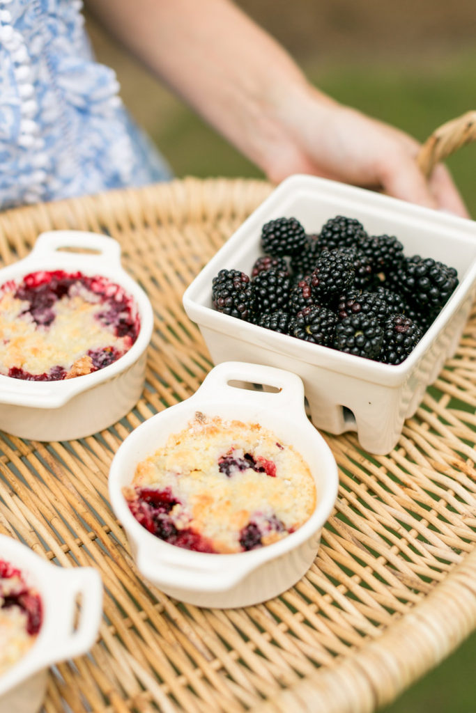 mini blackberry cobbler recipe