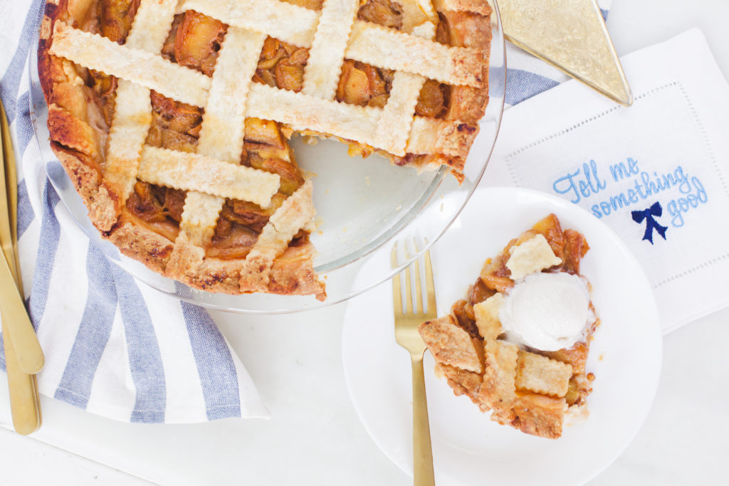 healthy peach pie recipe