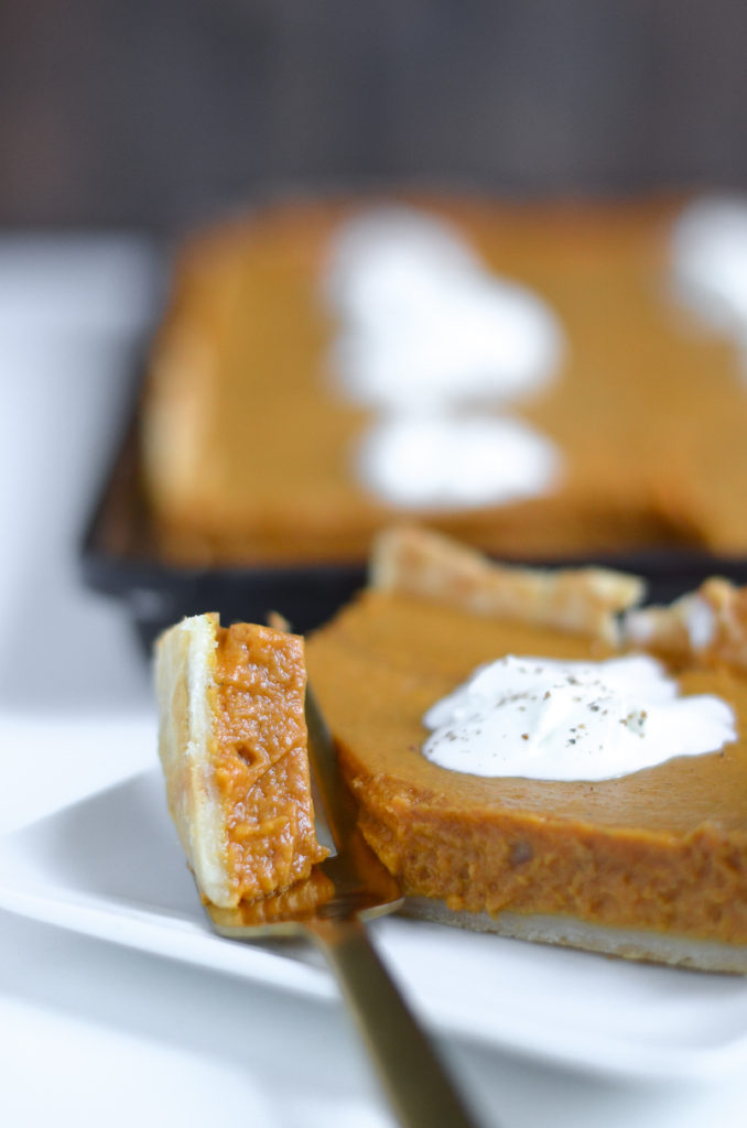 pumpkin slab pie recipe
