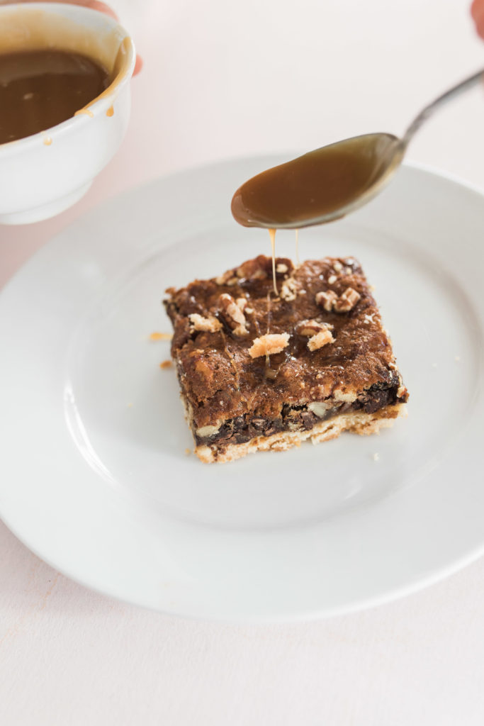 southern pecan pie bar recipe