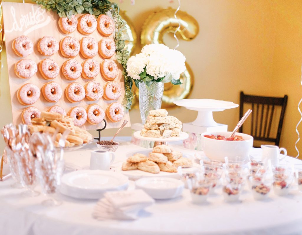 southern bridal shower