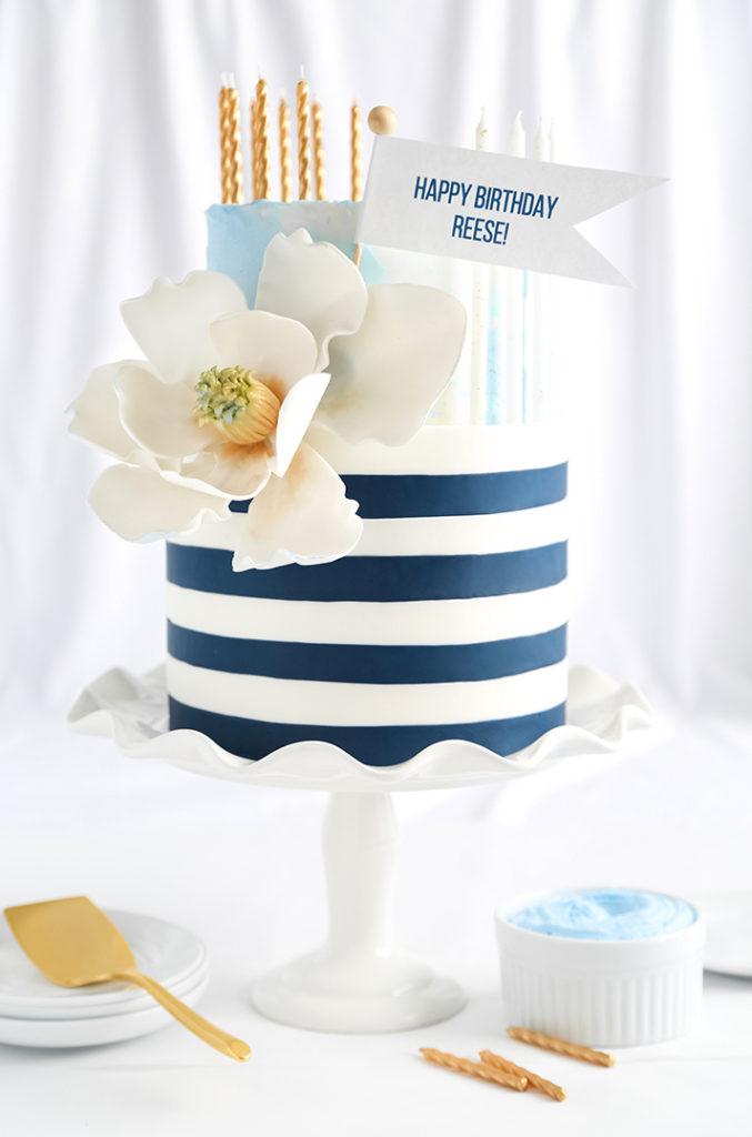 Reeses draper james inspired birthday cake from sprinkle hello sugar reeses draper james inspired birthday cake from sprinkle bakes thecheapjerseys Images